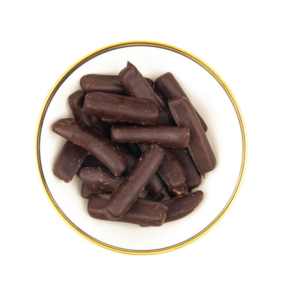 ingwerstaebchen-zartbitterschokolade-schale