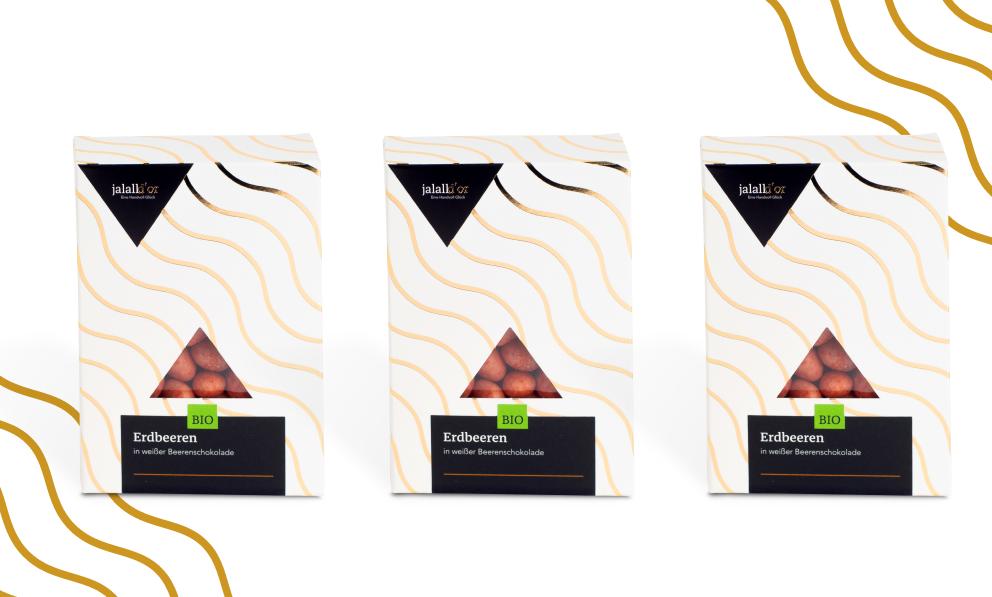 3er Set - Erdbeeren in Beeren-Schokolade bio