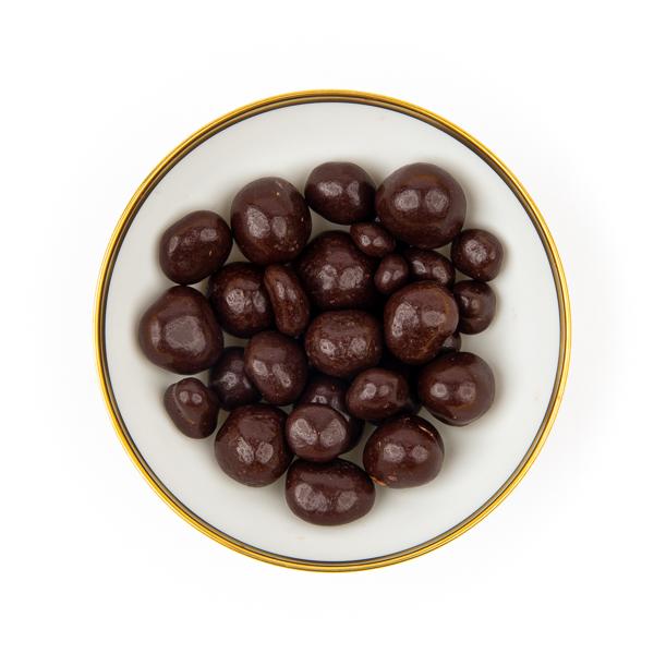 Himbeeren in Zartbitter-Schokolade bio