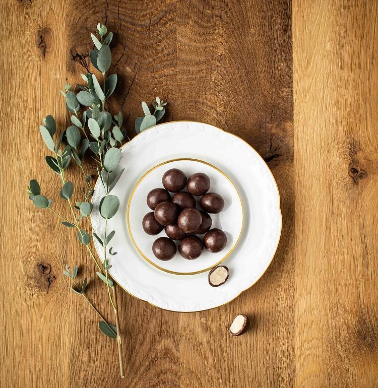 3er Set - Edelmarzipan in Zartbitter-Schokolade bio