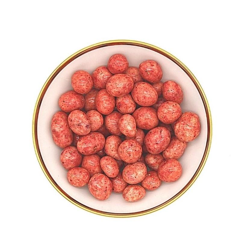 Erdbeeren in Beeren-Schokolade bio